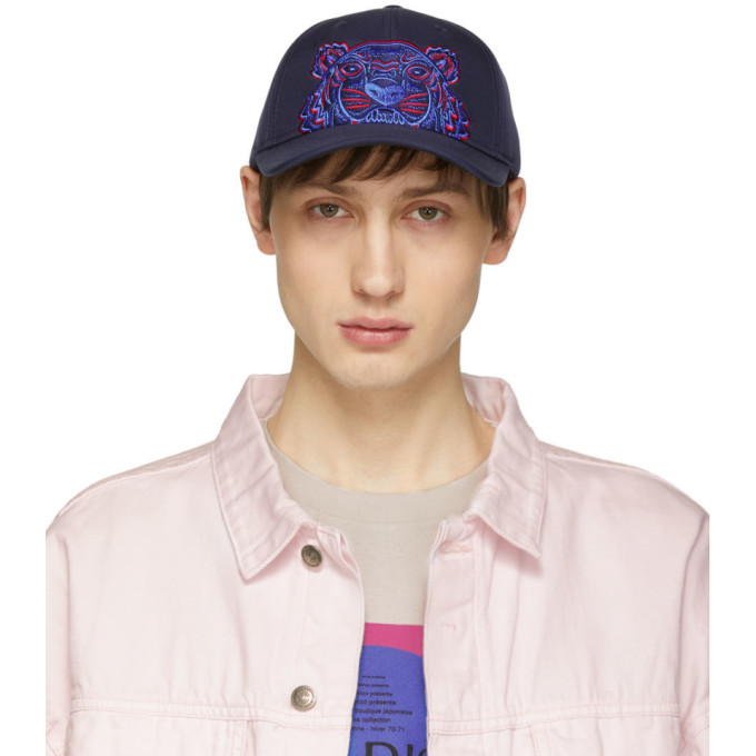Photo: Kenzo Navy Neoprene Tiger Cap