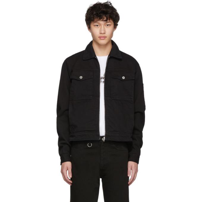 Photo: Random Identities Black Denim Jacket