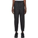 3.1 Phillip Lim Black Offset Zipper Lounge Pants