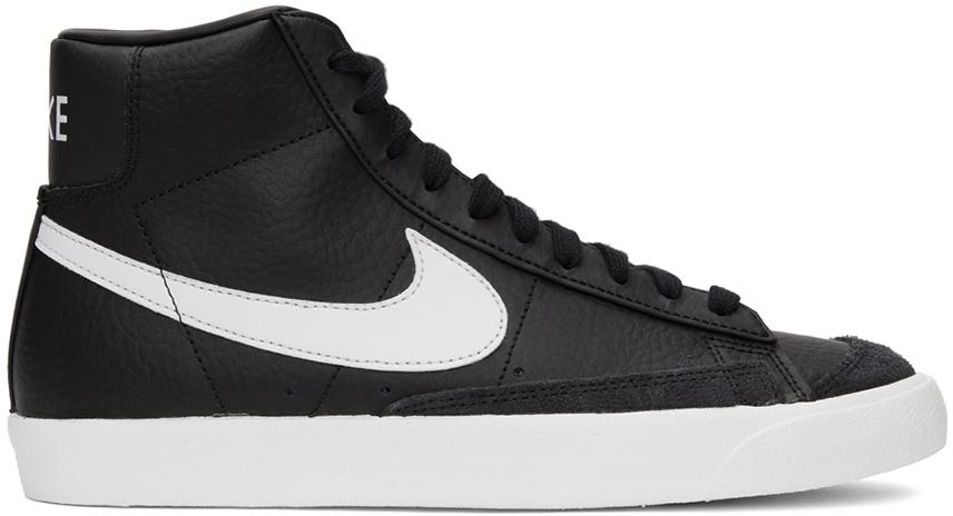 Photo: Nike Black Blazer Mid '77 Vintage Sneakers