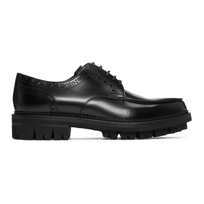 Photo: Dsquared2 Black Rodeo Brogues