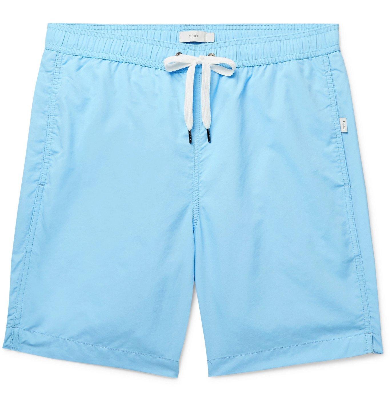 Photo: Onia - Charles Swim Shorts - Blue