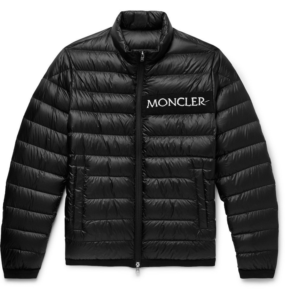 Photo: Moncler - Neveu Quilted Shell Down Jacket - Black