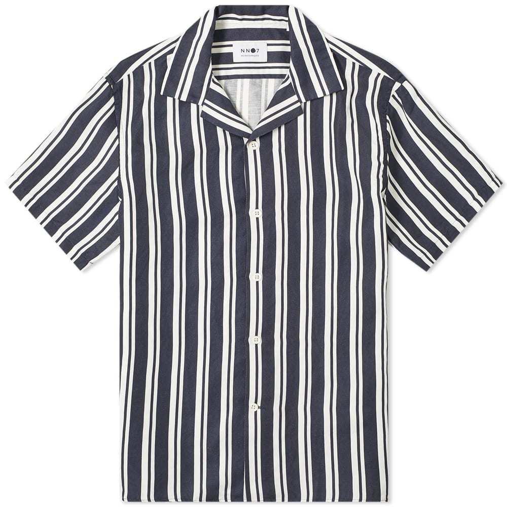 Photo: NN07 Striped Miyagi Vacation Shirt