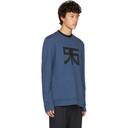 Raf Simons Navy Regular Graphic Sweatshirt