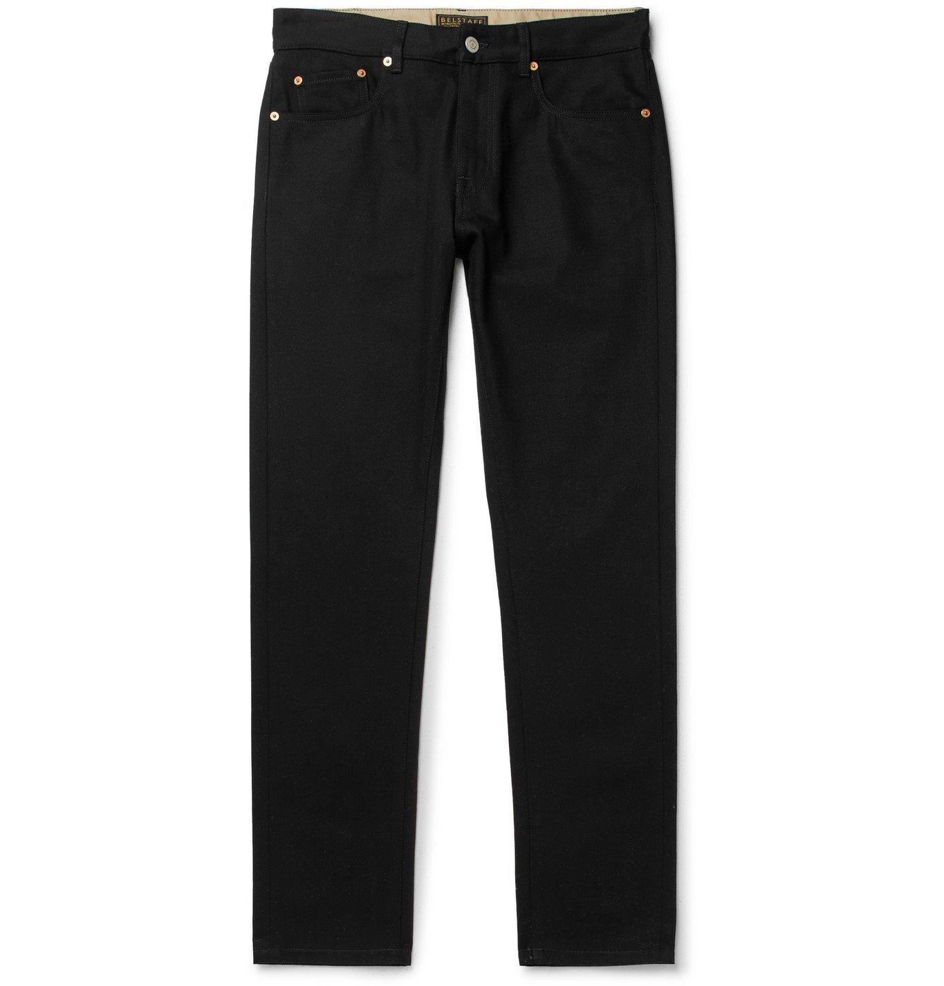 Belstaff - Longton Slim-Fit Denim Jeans - Black