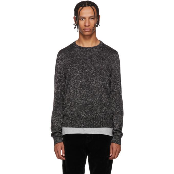 Photo: Saint Laurent Silver Lurex Sweater