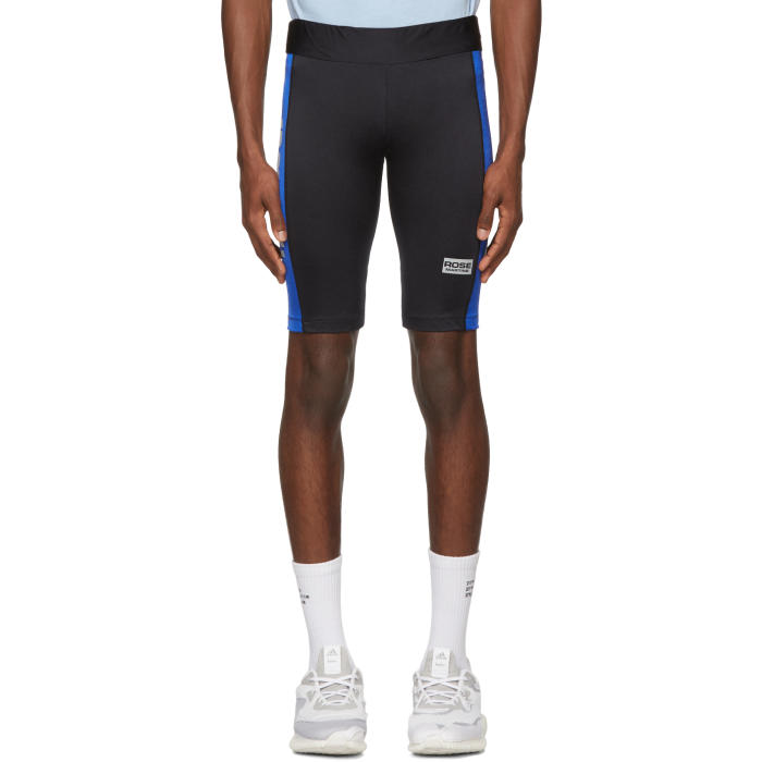 Photo: Martine Rose Black and Blue Cycling Shorts