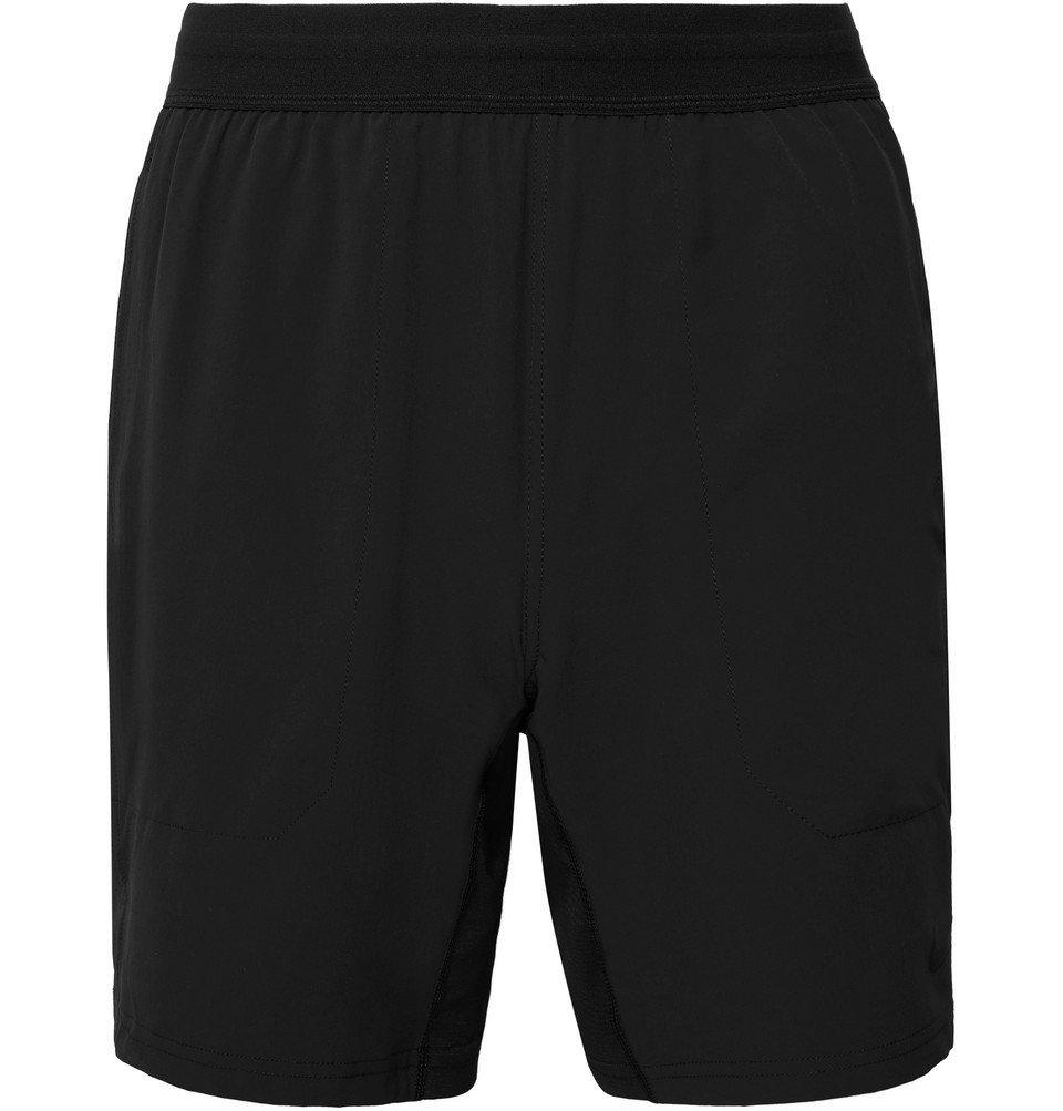Photo: Nike Training - Flex Active Ripstop-Panelled Dri-FIT Yoga Shorts - Black