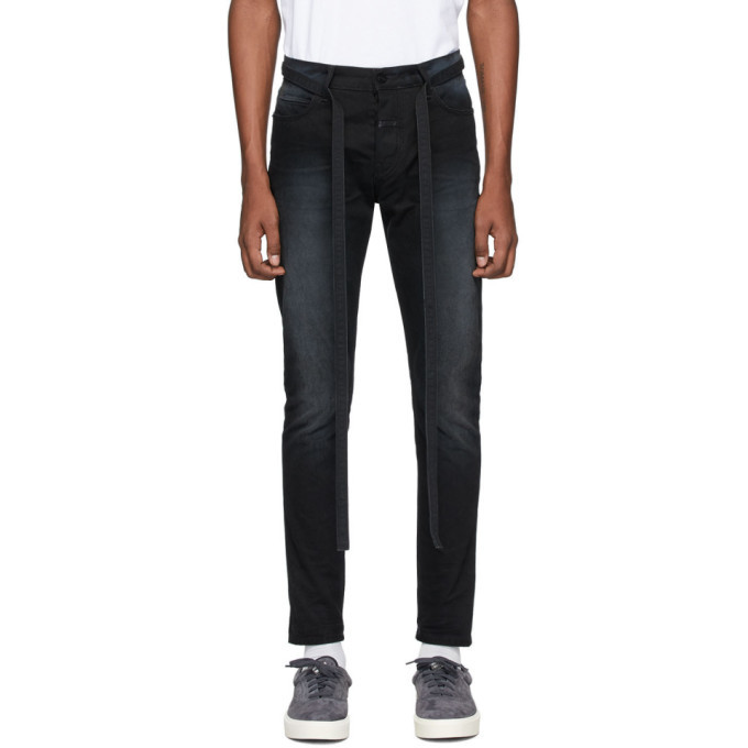 Photo: Fear of God Black Slim Canvas Jeans
