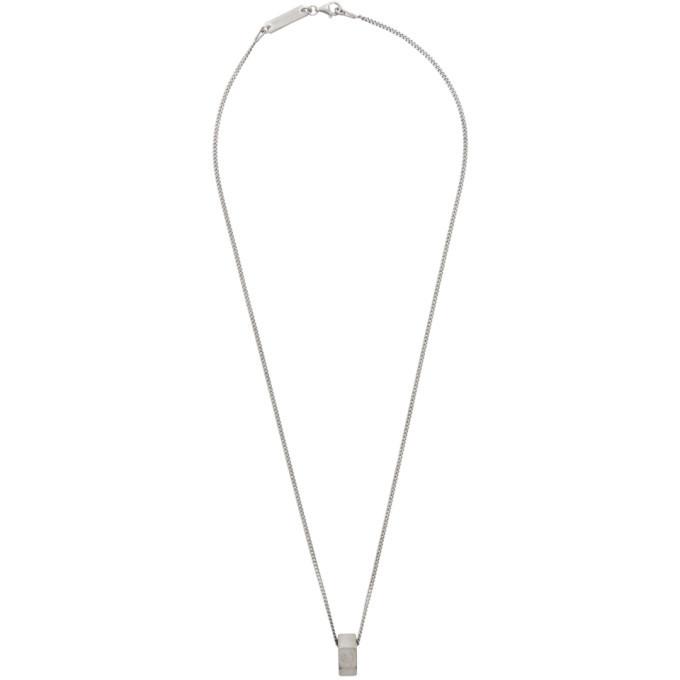 Photo: Maison Margiela Silver Nut Necklace