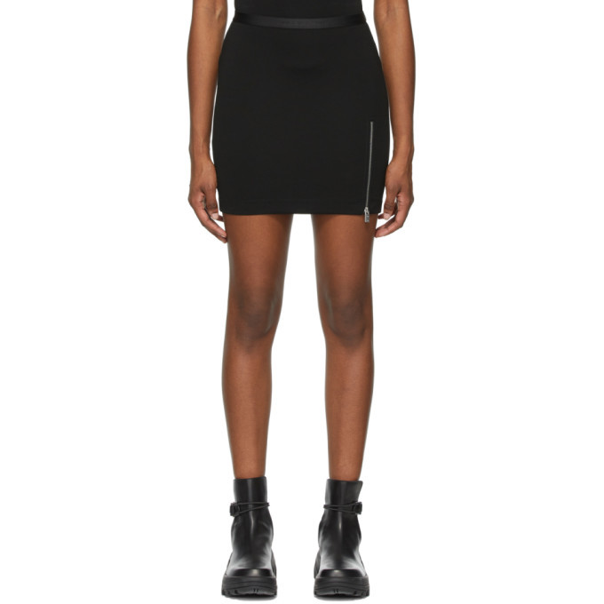 Photo: 1017 ALYX 9SM Black Logo Waistband Sport Miniskirt