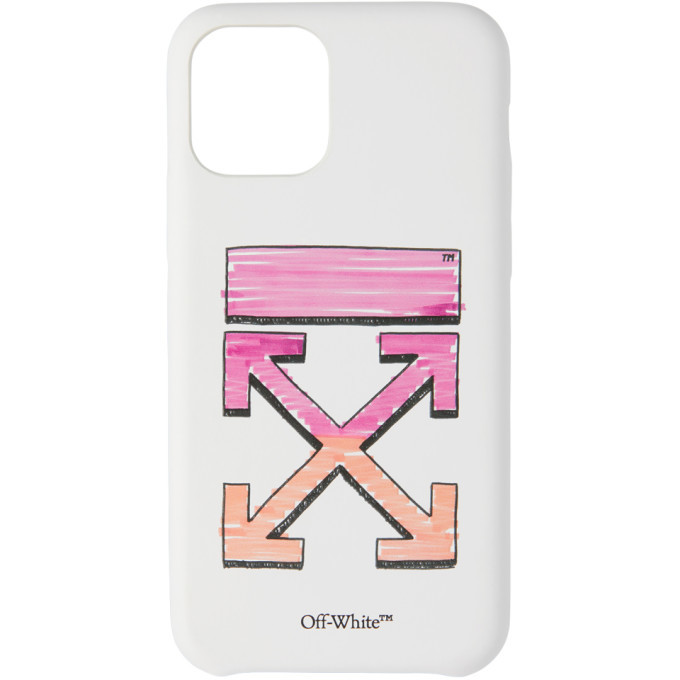 Photo: Off-White White Marker iPhone 11 Pro Case