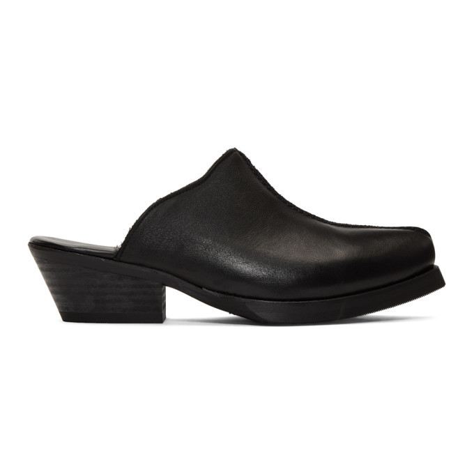 Photo: Our Legacy Black Slip-On Loafers