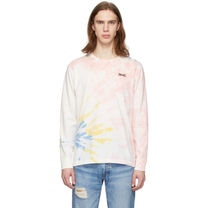 Photo: Levis Multicolor Tie-Dye Two Horse Long Sleeve T-Shirt