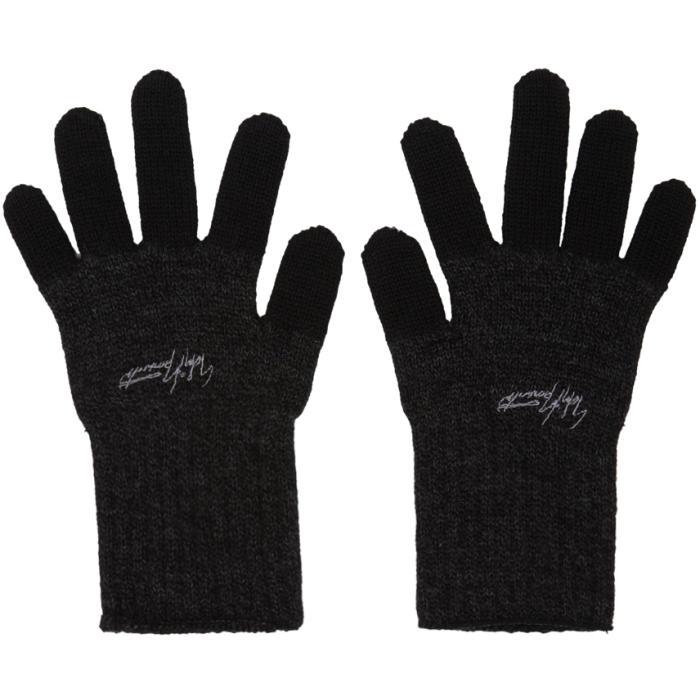Photo: Yohji Yamamoto Black Military Gloves