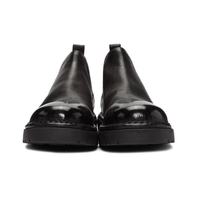 Marsell Black Pallottola Pomice 352P Chelsea Boots