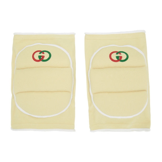 Photo: Gucci Off-White Logo Knee Pads