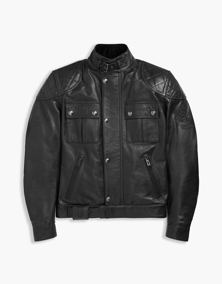 Belstaff Brooklands Motorcycle Jacket Brown