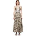 Stella McCartney Multicolor Silk Allover Daisies Lyla Dress