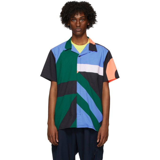 Photo: Y-3 Multicolor AOP Resort Short Sleeve Shirt