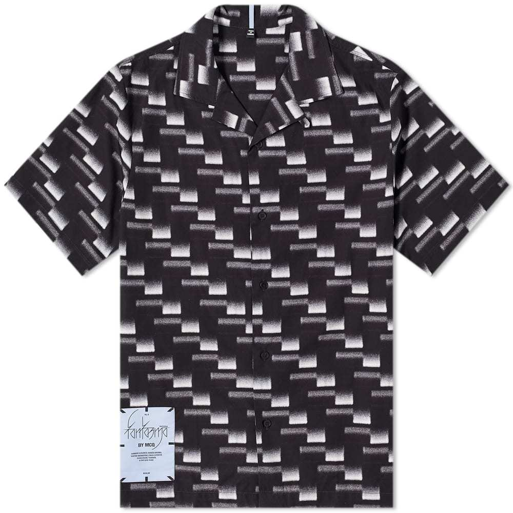 McQ All Over Print Vacation Shirt