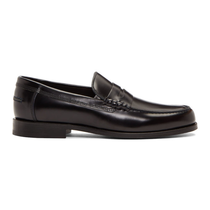 Photo: PS by Paul Smith Black Teddy Loafers