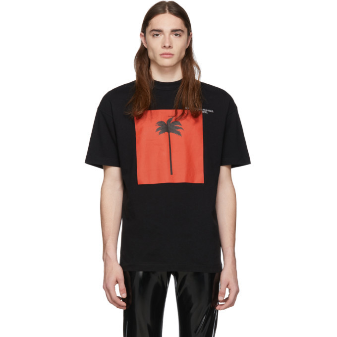 Photo: Palm Angels SSENSE Exclusive Black Palm x Palm Big T-Shirt