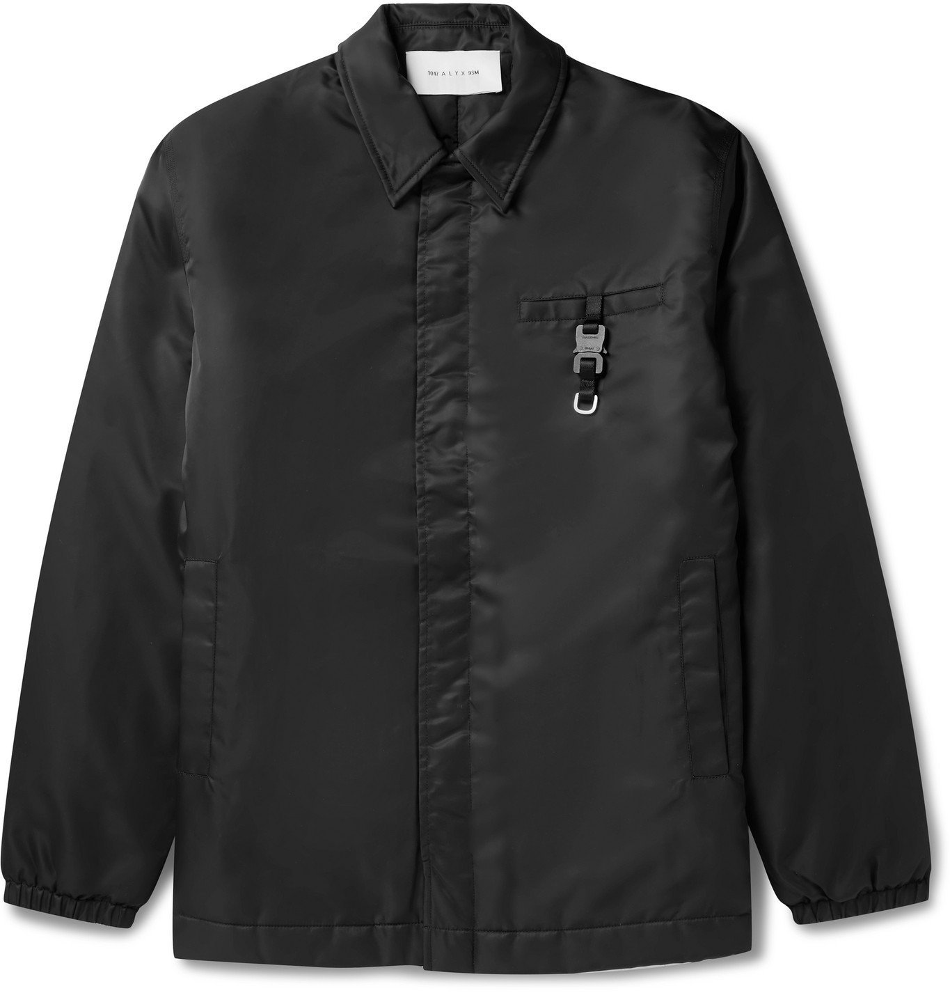 Photo: 1017 ALYX 9SM - Buckle-Detailed Nylon Jacket - Black