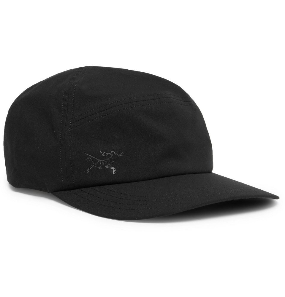 Photo: Arc'teryx - Elaho Logo-Print Shell Cap - Black