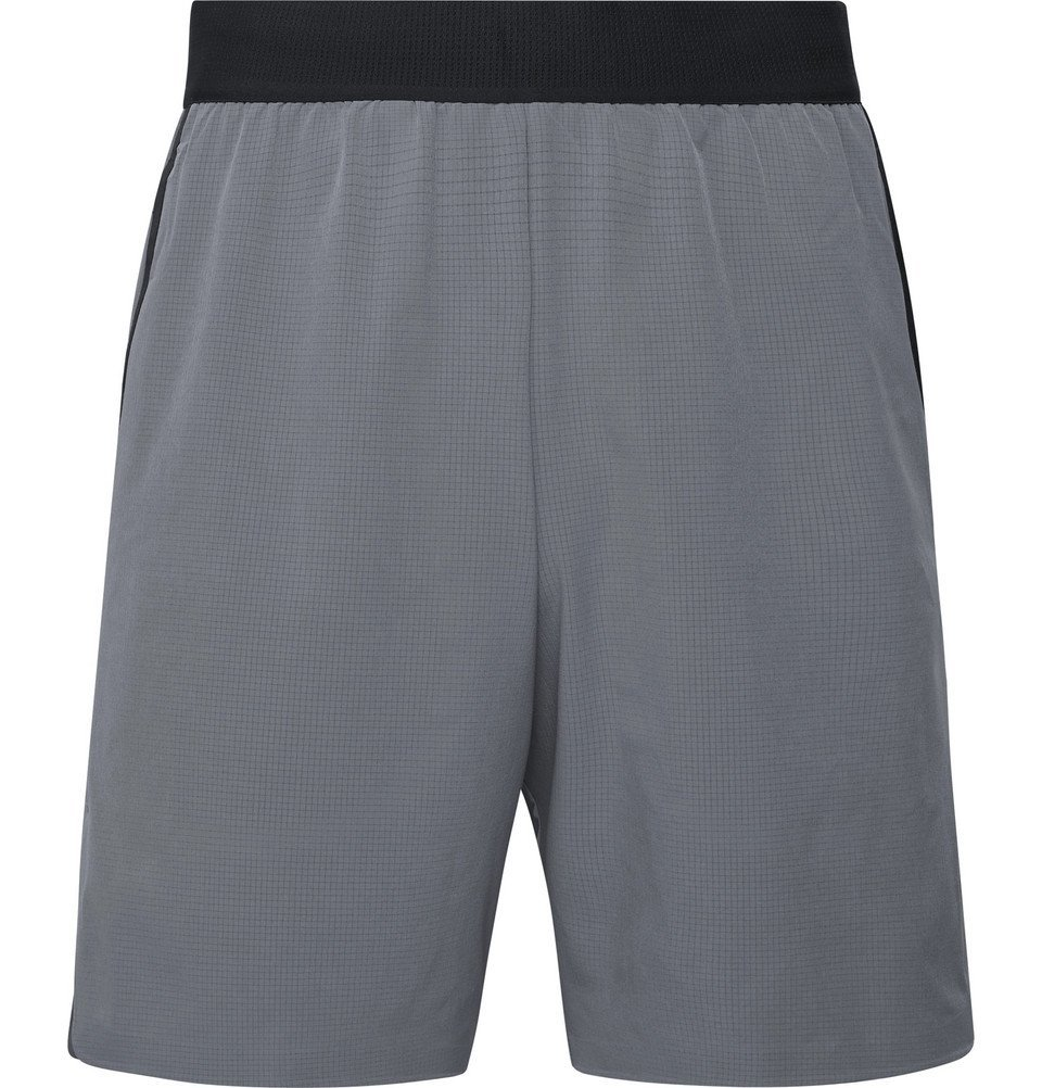 Photo: Nike Training - Flex Tech Pack Wide-Leg Stretch-Shell Shorts - Gray