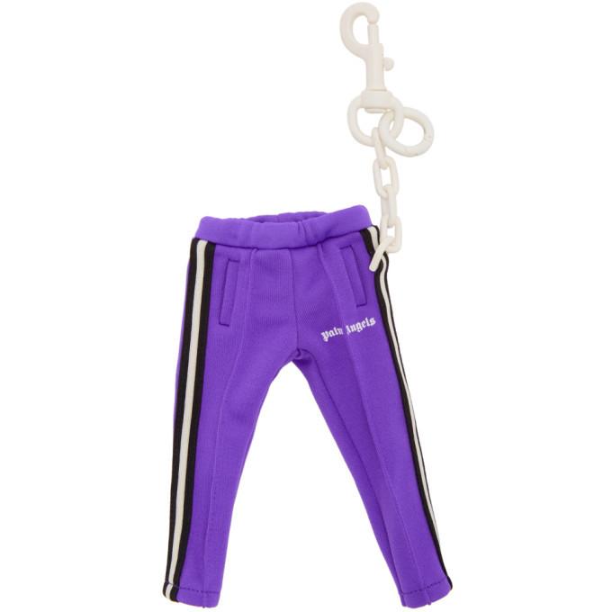 Photo: Palm Angels Purple Mini Track Keychain