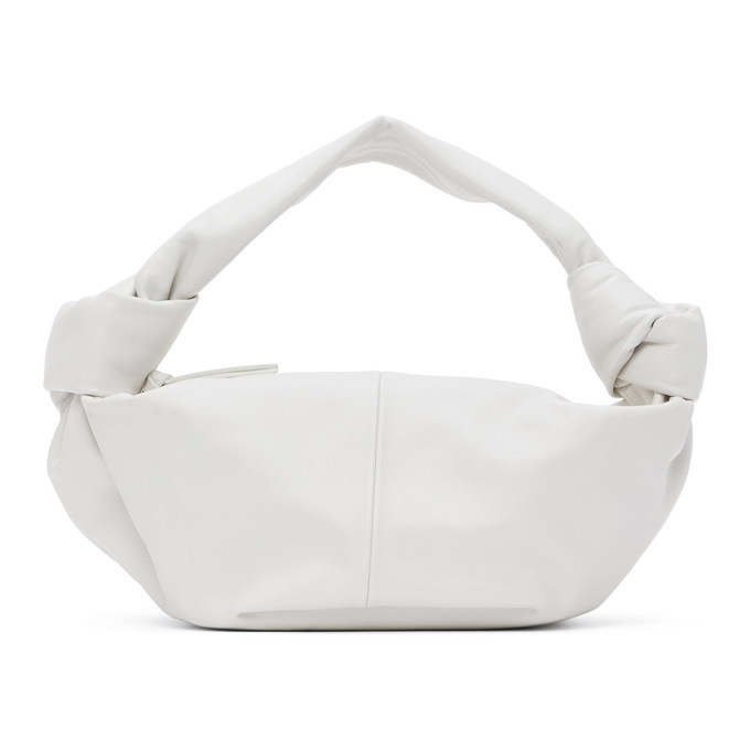 Photo: Bottega Veneta White Mini Bag