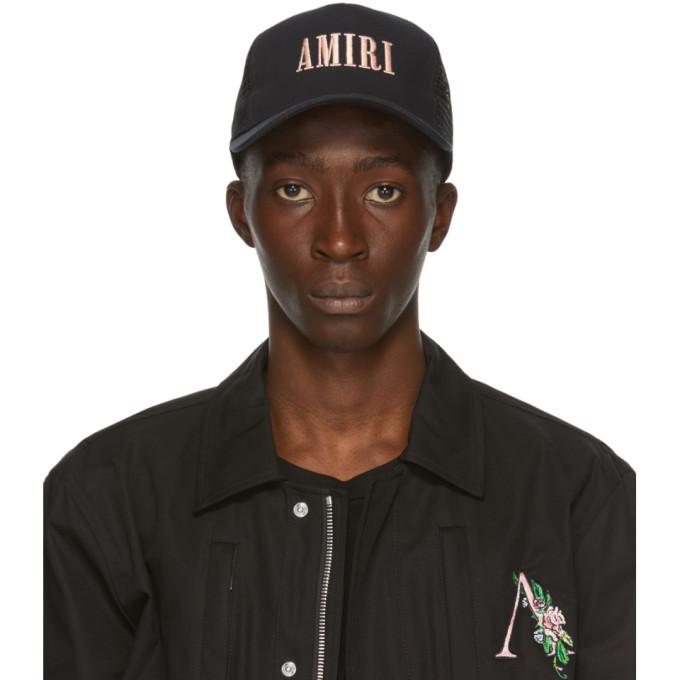 Photo: Amiri Black Logo Cap