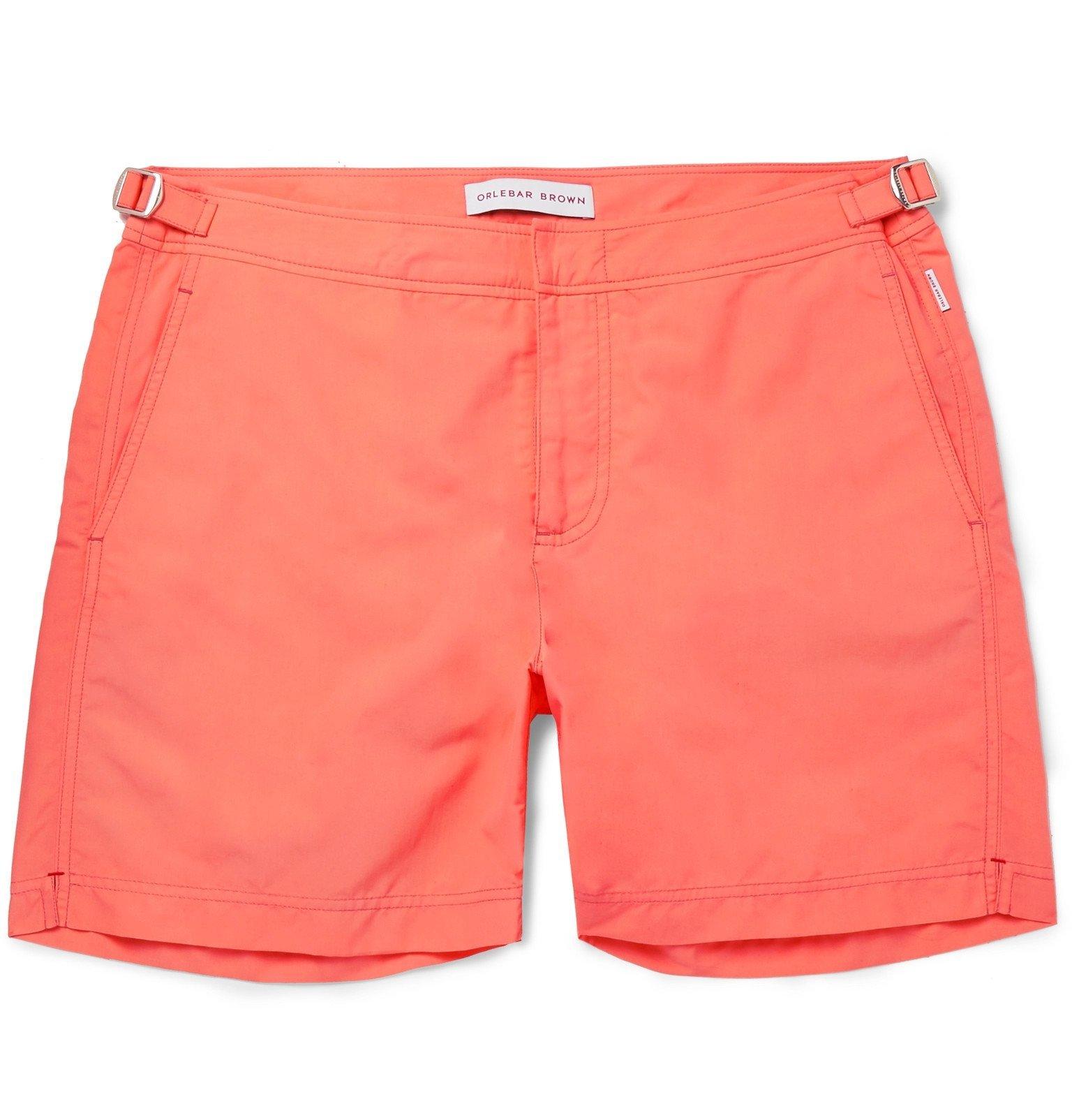 Photo: Orlebar Brown - Bulldog Mid-Length Swim Shorts - Orange