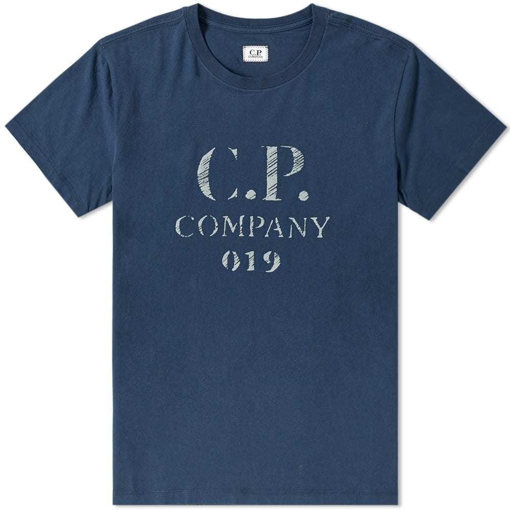 C.P. Company Reflective Logo Tee