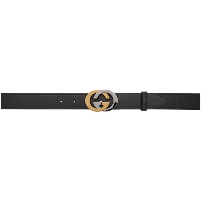 Photo: Gucci Black Interlocking G Belt