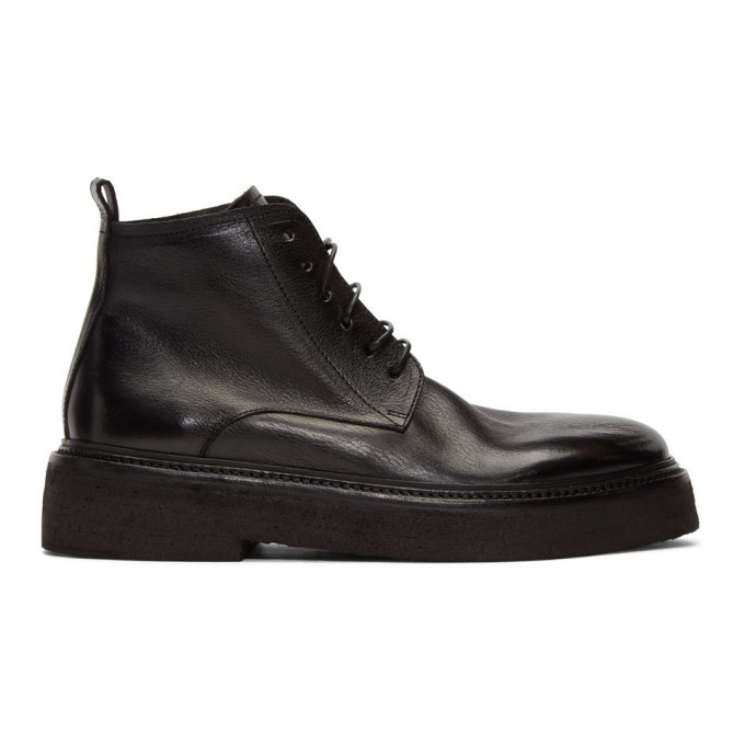 Photo: Marsell Black Parruccona Anfibio Boots