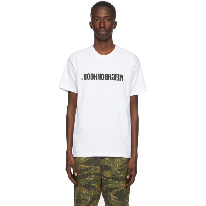 Photo: Neighborhood White Archive No. 0201 CI T-Shirt