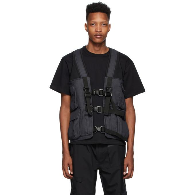 Photo: GR10K Navy Nomex® Arc Game Bag Vest