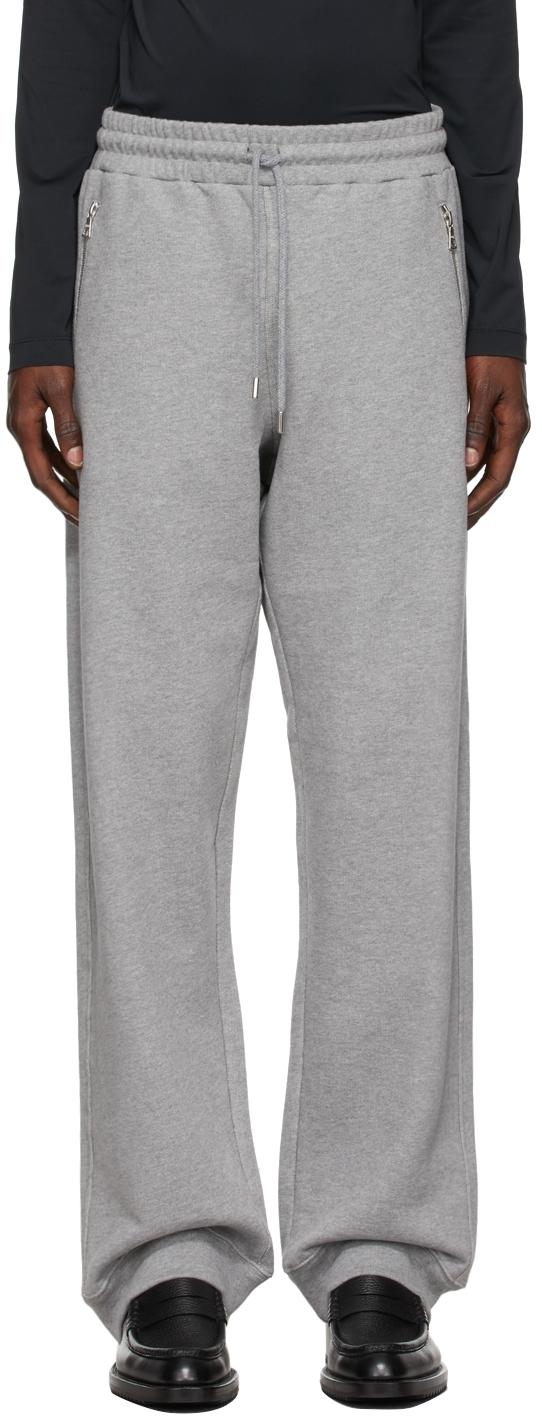 Photo: Dries Van Noten Grey Heavy Weight Lounge Pants