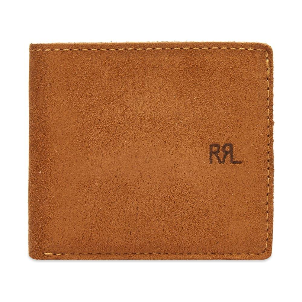RRL Suede Billfold Wallet