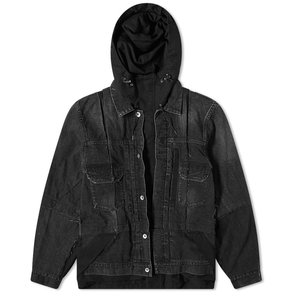Sacai Denim Hooded Coat