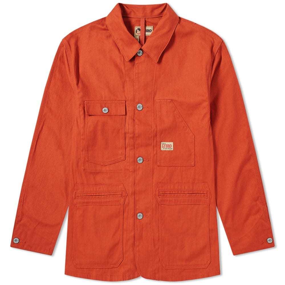 Photo: Nigel Cabourn Lybro Work Jacket Vintage Orange