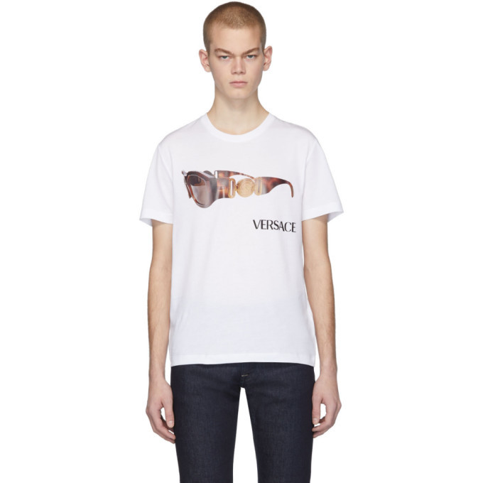 Photo: Versace White Biggie T-Shirt