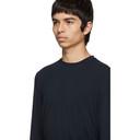 Giorgio Armani Navy Viscose Sweater