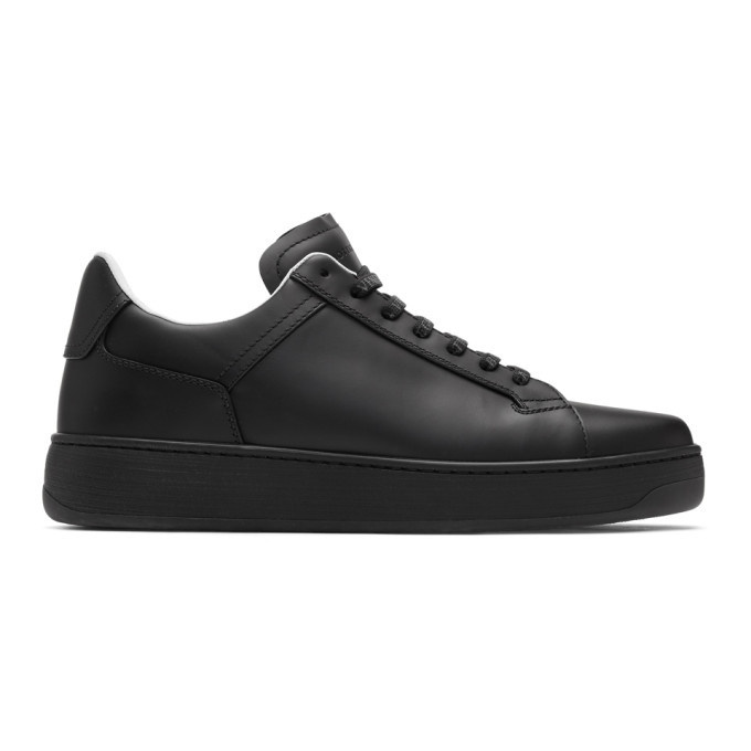 Photo: Bottega Veneta Black Bolt Sneakers