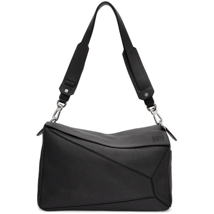 Photo: Loewe Black XL Puzzle Bag