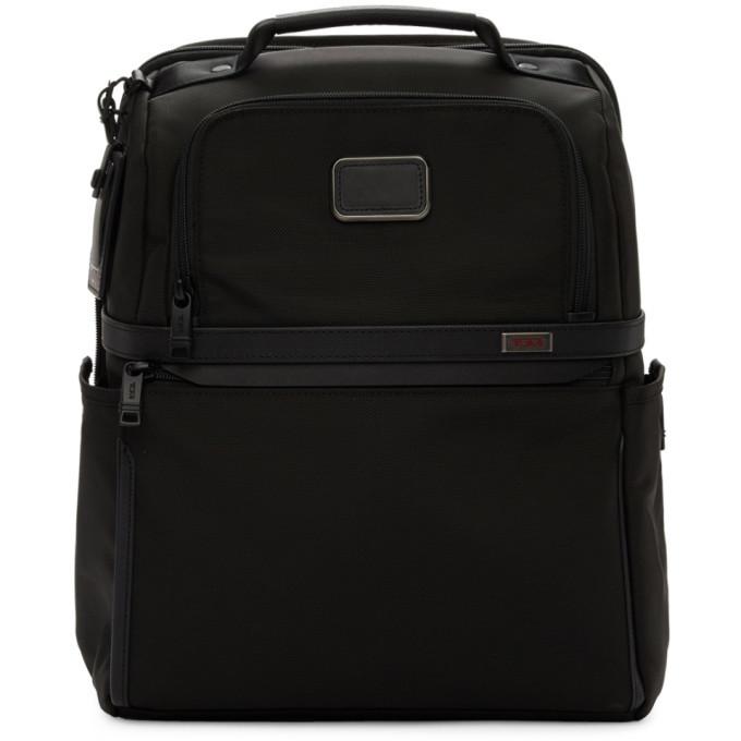 Photo: Tumi Black Alpha 3 Slim Solutions Brief Backpack