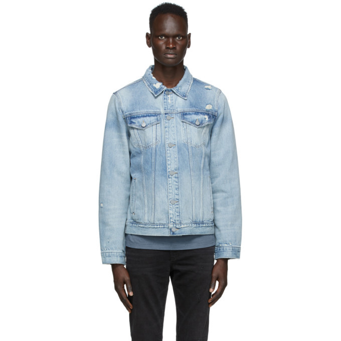 Photo: Frame Blue Denim LHomme Jacket